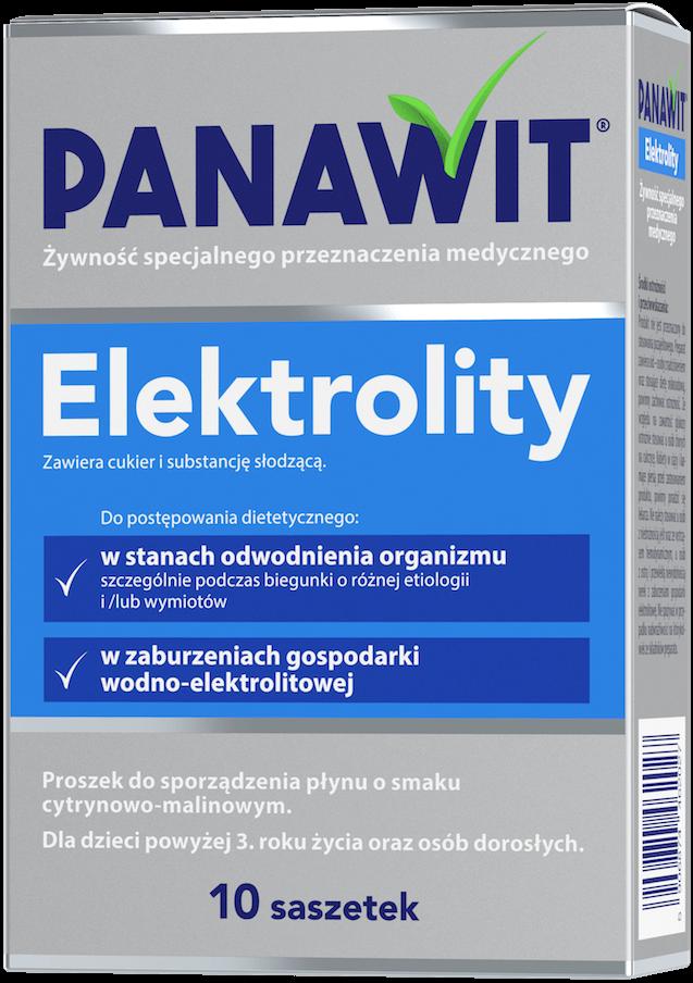 Panawit Elektrolity - doustny płyn nawadniający
