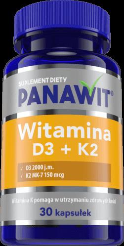 Panawit Witamina D3 + K2