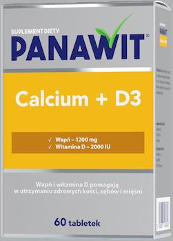 Panawit Calcium D3 - wapń zwitaminą D