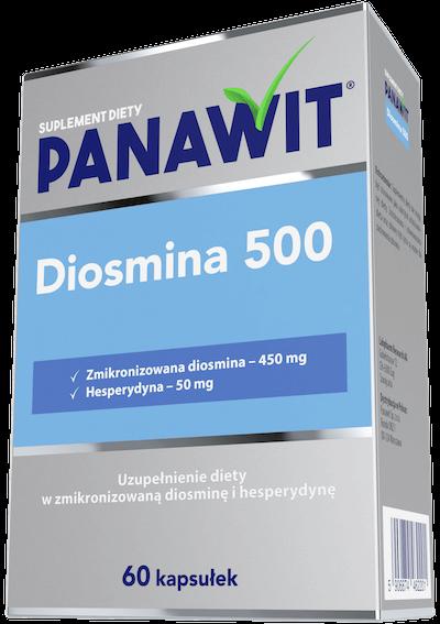 Panawit Diosmina 500 - zmikronizowana diosmina zhesperydyną