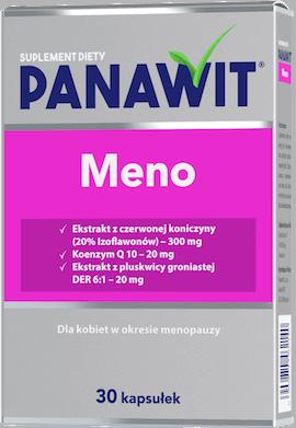 Panawit Meno - suplementy diety dla kobiet zmenopauzą