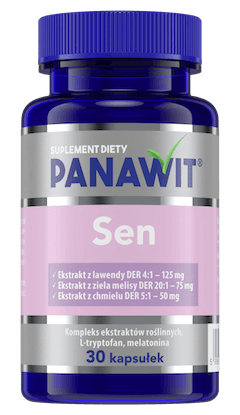 Panawit Sen - suplementy diety nadobry sen