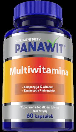 Panawit Multiwitamina - witaminy iskładniki mineralne