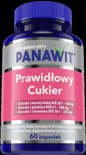 Panawit Prawidłowy Cukier - suplementy diety zekstraktem zmorwy białej