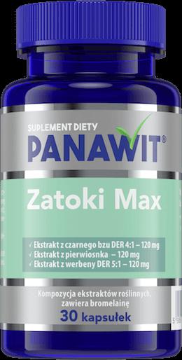 Panawit Zatoki Max- suplement diety nazatoki
