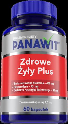 Panawit Zdrowe Żyły Plus - suplementy diety nakrążenie ihemoroidy