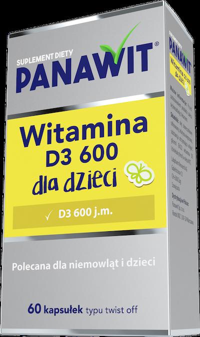 Panawit Witamina D3 400 dla dzieci